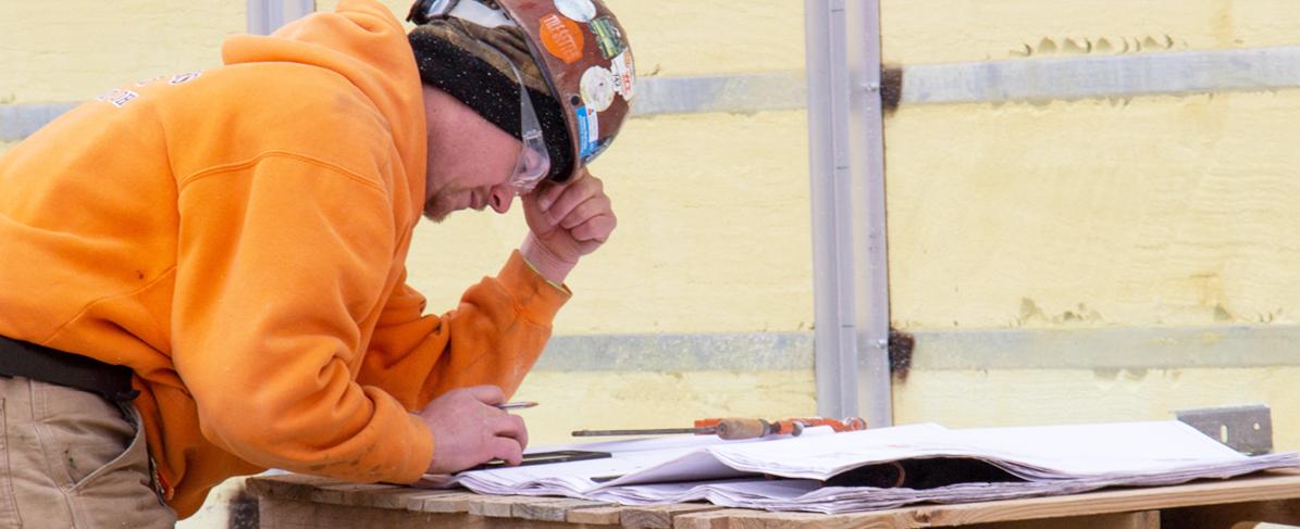 contractor on jobsite